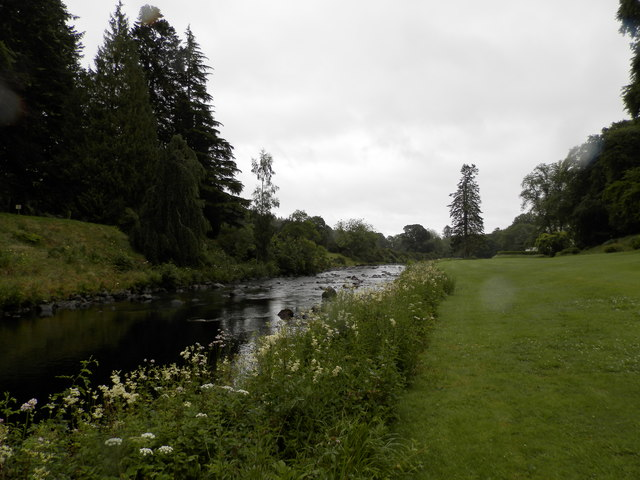 The South Esk at Cortachy