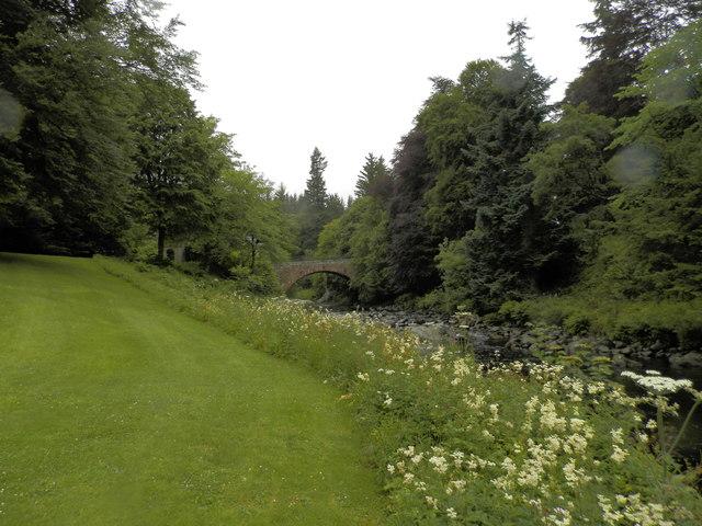 The South Esk towards Cortachy Bridge