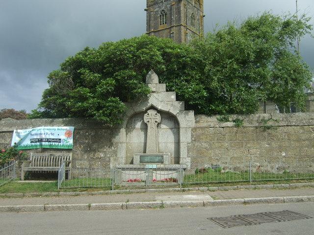 War Memorial, St Buryan