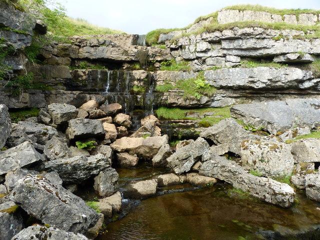 Waterfall, Hunt Pot