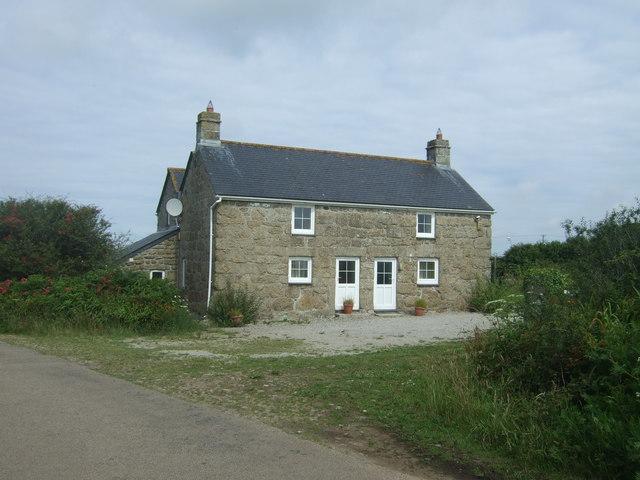 Cottages near Bosanketh Farm