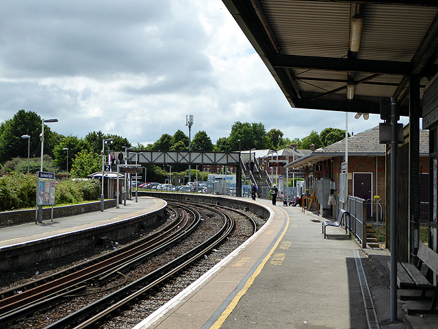 Dorchester South station
