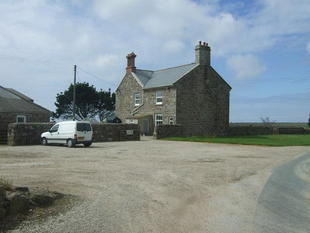 Farmhouse, Trevear Farm