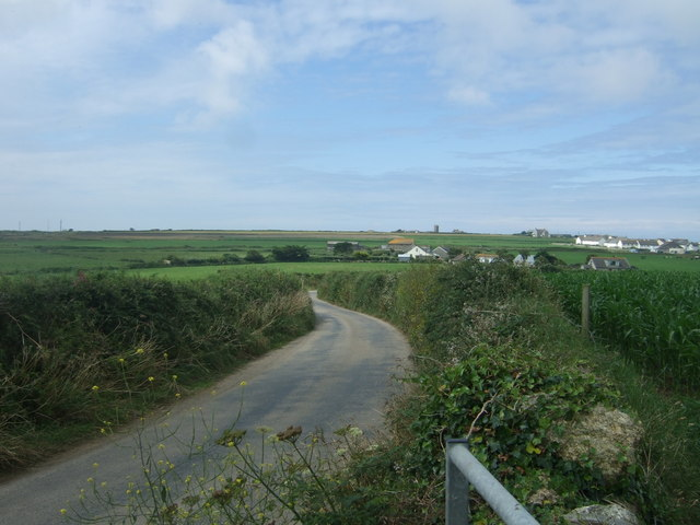 National Cycle Route 3 towards Sennen
