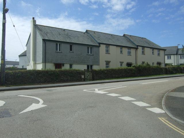 Houses on the A30, Sennen