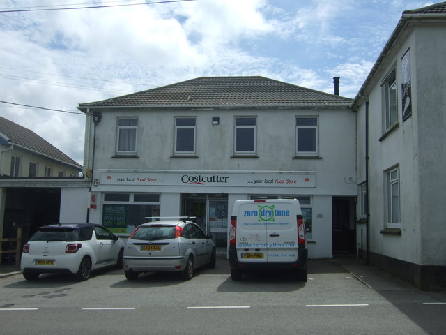 Post Office and stores, Sennen