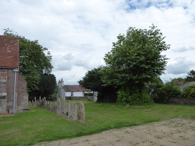 St Mary Magdalene, Wartling: churchyard (1)