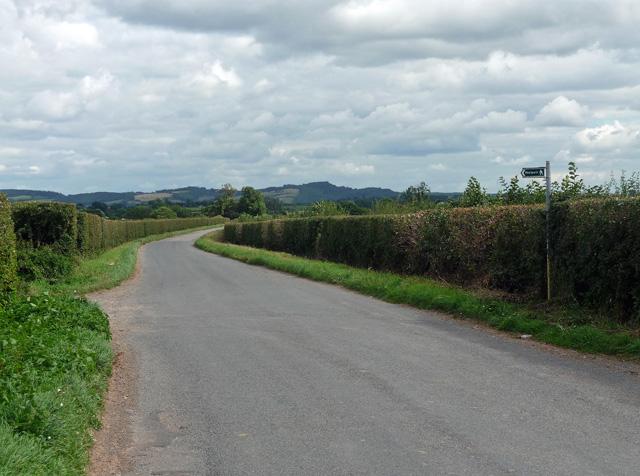 Ridgeway Road near Sutton St Nicholas