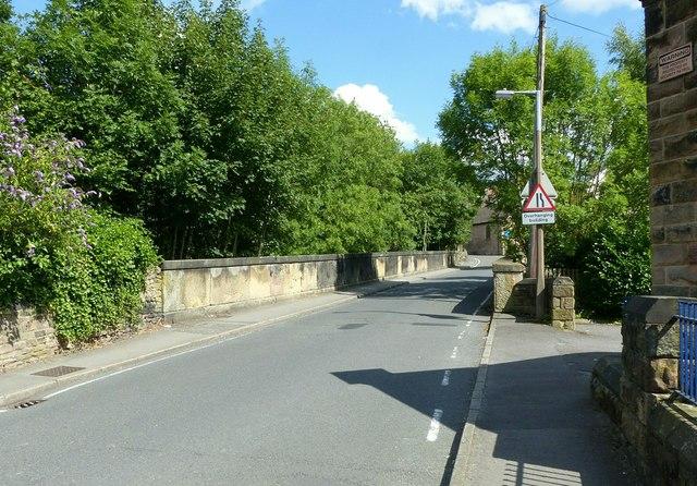 Gibfield Lane railway bridge