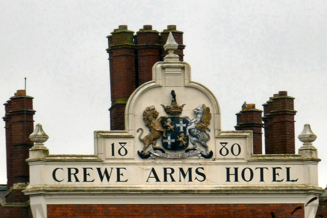 Crewe Arms Hotel 1830