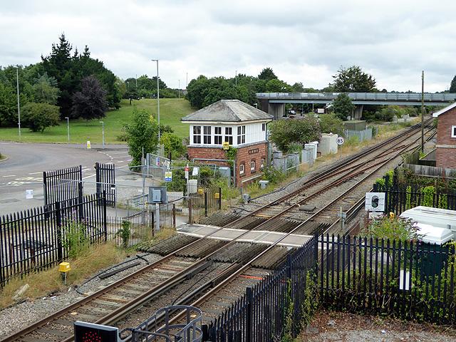 Wareham signal box