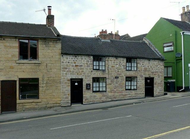 24 Queen Street, Belper (Nailers Cottage)