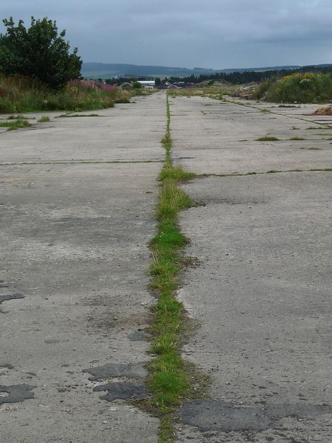 Runway, RAF Dallachy, Moray