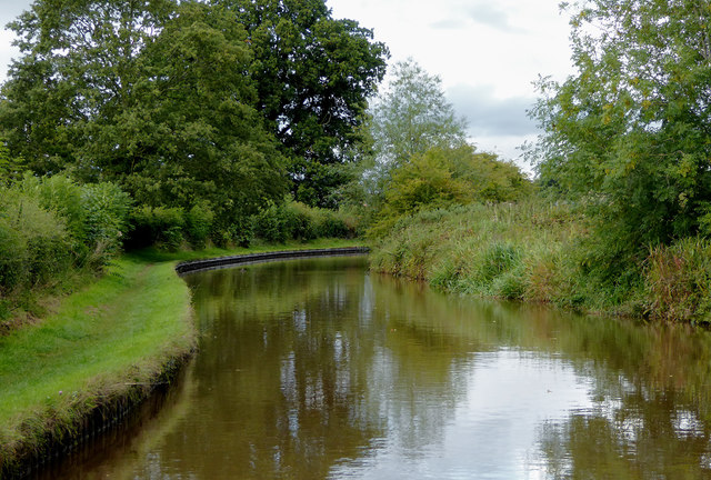 Llangollen Canal south of Ellesmere in Shropshire