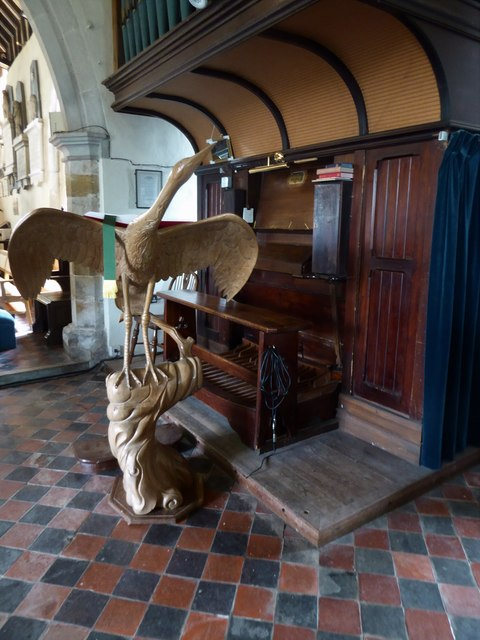St Mary Magdalene, Wartling: lectern