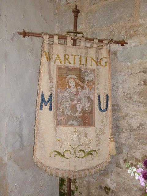 St Mary Magdalene, Wartling: banner (i)