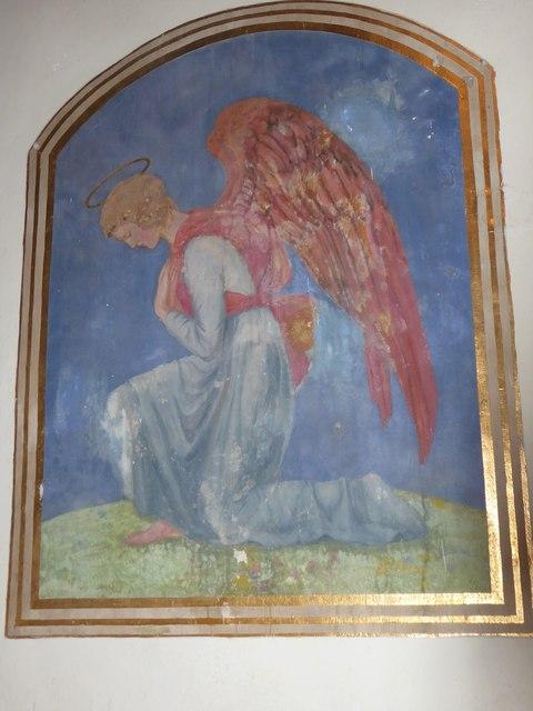 Inside St Mary Magdalene, Wartling (i)