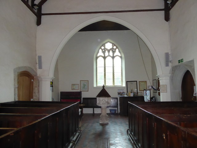 Inside St Mary Magdalene, Wartling (iv)