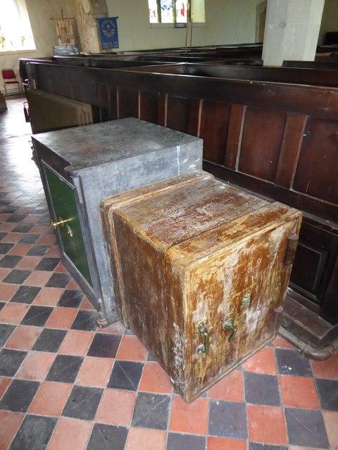 Inside St Mary Magdalene, Wartling (vi)