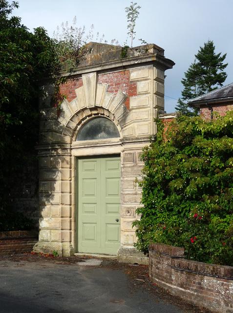 Doorway near Shobdon