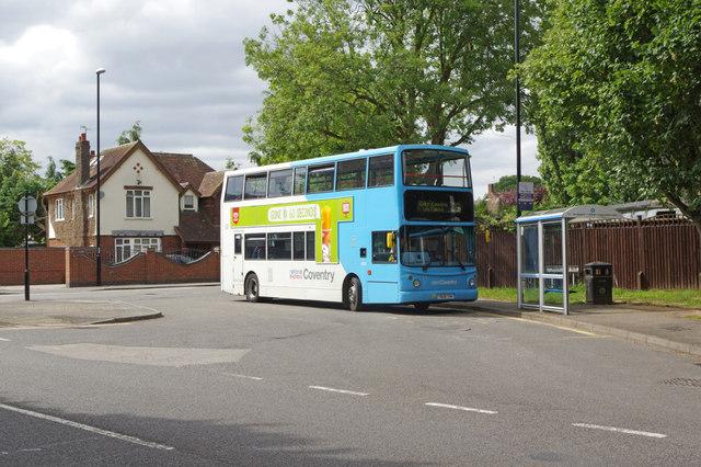 Bus terminus, Tile Hill