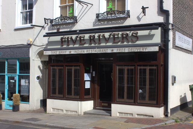 Five Rivers restaurant, Bridge St, Leatherhead