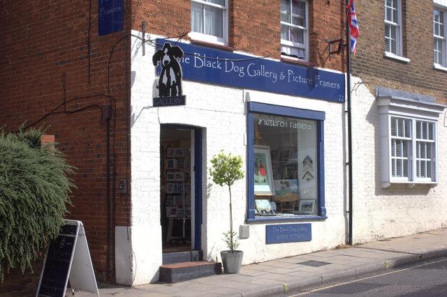 The Black Dog gallery, Bridge St, Leatherhead