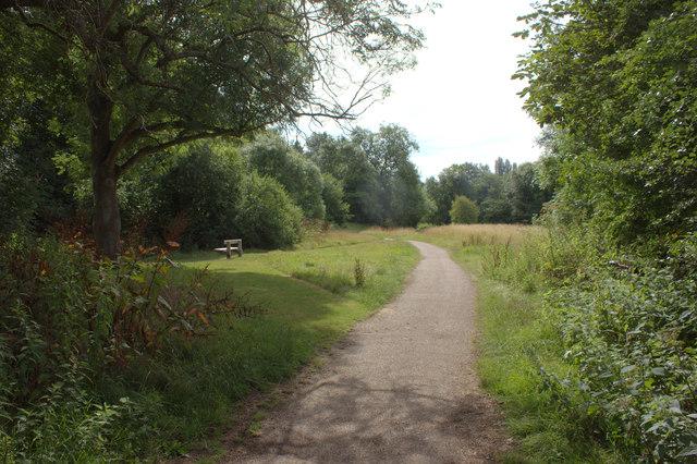 River Mole nature reserve path