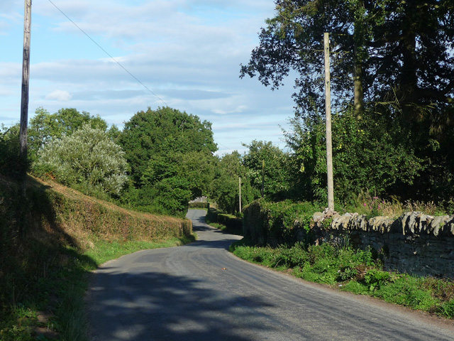 Country road near Stansbatch