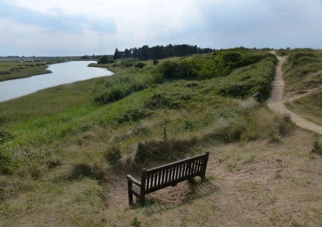 Seat overlooking Broad Water