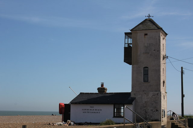 South Lookout, Crag Path, Aldeburgh