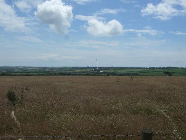 Grassland off the A30