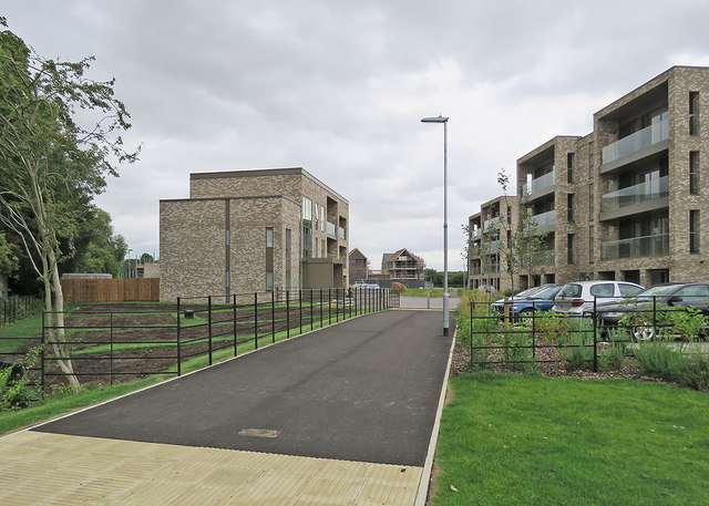 The Addenbrooke's end of the Ninewells development