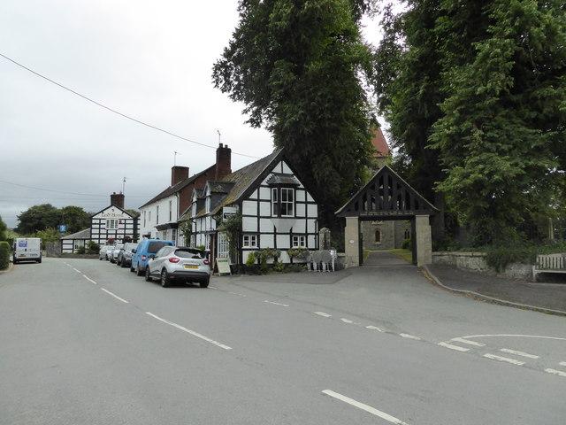 Part of Berriew village