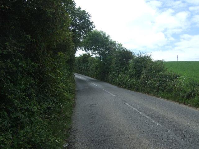 B3283 towards St Buryan