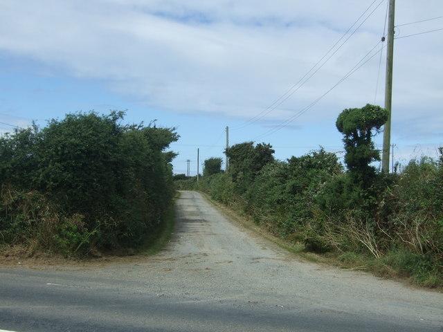 Track (footpath) to Higher Drift Farm
