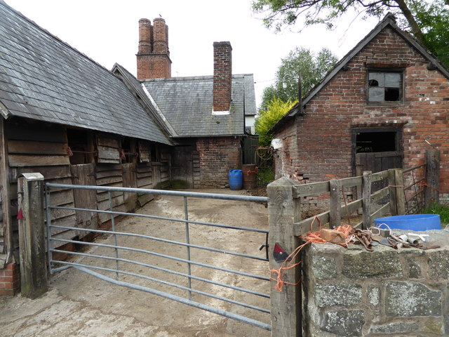 Stable block at Berriew