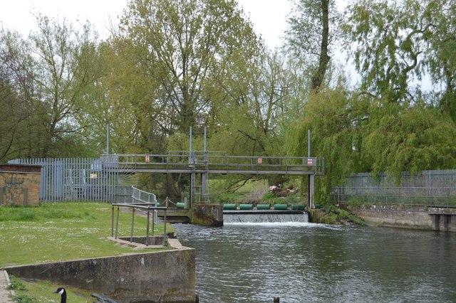 Weir, River Little Ouse