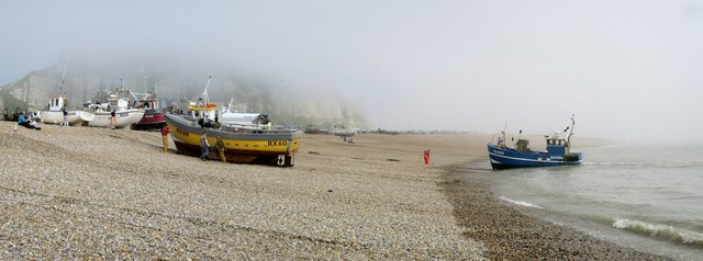 Fishing boats at Harbour beach