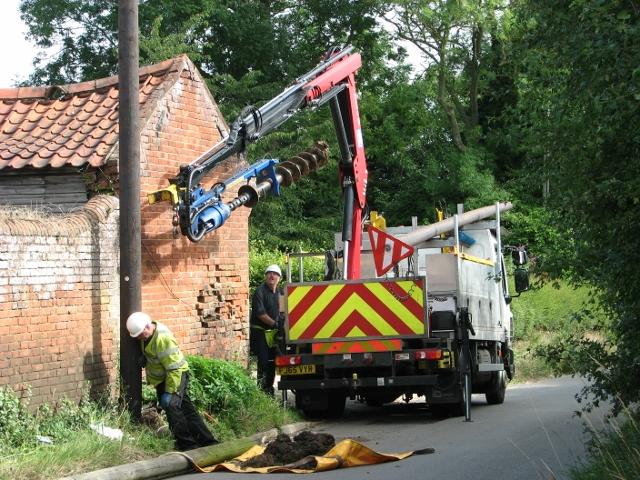 Damaged telephone pole - how long does it take (5)