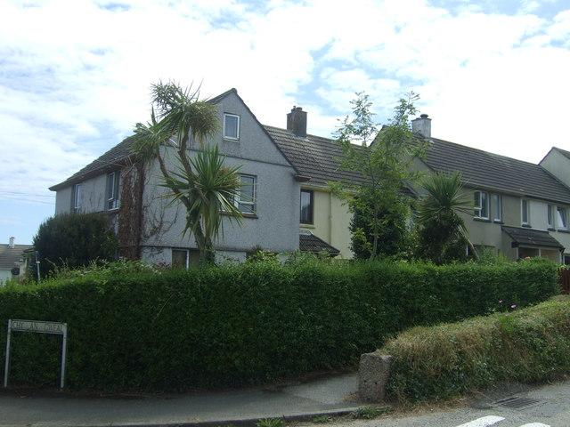 Houses on Long Lane