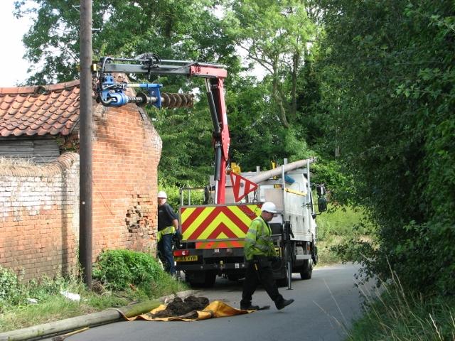 Damaged telephone pole - how long does it take (7)