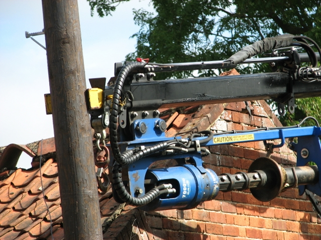 Damaged telephone pole - how long does it take (9)