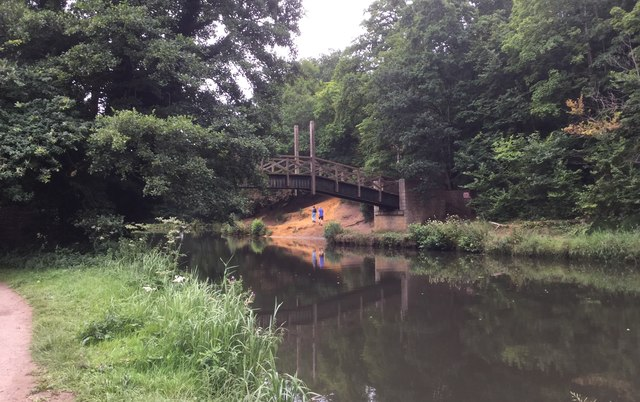 Bridge over the River Wey Navigation