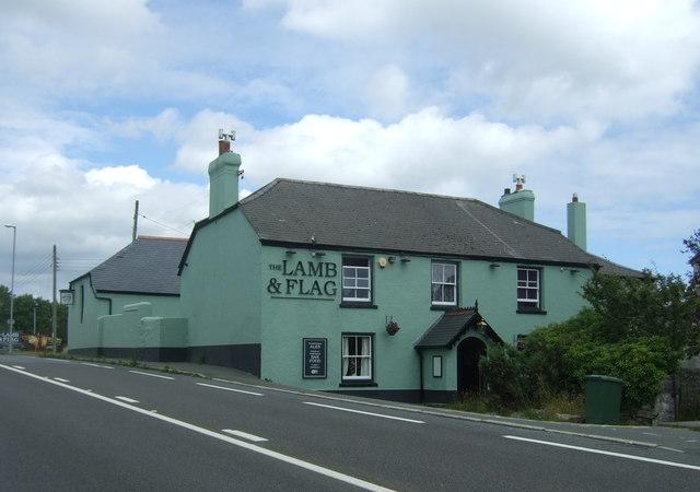 The Lamb & Flag, Rose-an-Grouse