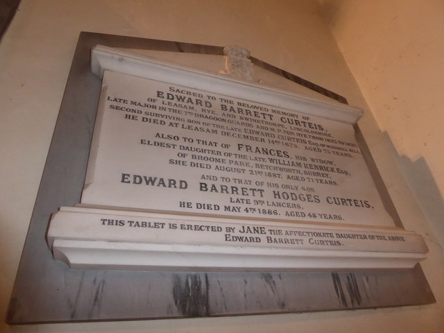 St Mary Magdalene, Wartling: memorial (x)