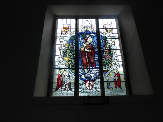 St Mary Magdalene, Wartling: stained glass window (i)