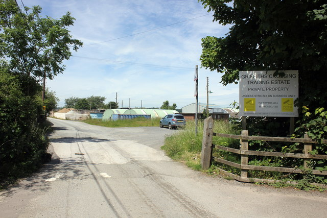 Entrance to Griffiths Crossing Trading Estate