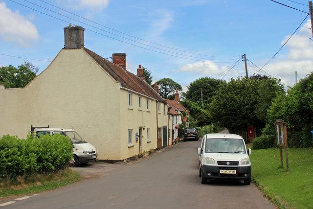 Goathurst village