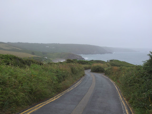 Road to Kennack Sands